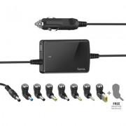 Универсално захранване за лаптоп HAMA, за автомобил, вх.12-15 V, изх.15-19 V/70W