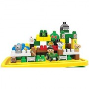 Mega Bloks CXN88 First Builders John Deere Big Barnyard Set Building Kit