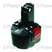 2-Power Verktygsbatteri Bosch 9.6V 2200mAh (BAT048)