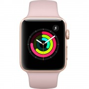 Apple Watch Series 3 (42mm) Aluminio en Oro y Correa Deportiva Rosa Arena -...