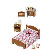 2 Sylvanian Families Sets Telephone And Semi Double Bed Sets Sold Together