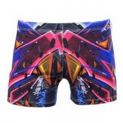 GraffitiBeasts Katre - Dames shorts voorzien van een mooie graffiti print - Multicolor - Size: Small