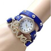 Swadesi Stuff New Arrival Love Bracelet Blue Stylish Analog Watch - for Girls Women