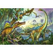 Puzzle Ravensburger - Dinozauri, 2x24 piese (08890)