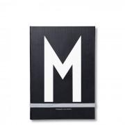 Personal Notizbuch M Design Letters