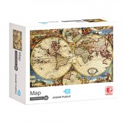 Пъзел карта на света (1000 елемента) EmonaMall - Код W3551