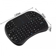 Mini i8 Keyboard Air Fly Mouse Plug and Play Wireless QWERTY Gaming Board for PC Tv Laptop and Xbox 360 for PS