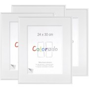 1x4 Nielsen Accent Colorado Uni 24x30 Plastic Frame white