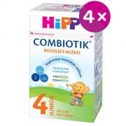 HiPP 4 JUNIOR Combiotik mléko 4x500g