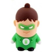 Microware Green Lantern 16 GB Pen Drive(Multicolor)