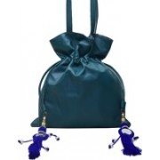 shankar produce Brand New Fashionable Ladies Genuine leather bag - Stylish Hand Bag - Designer Bag - Hand Held Bag - Color Green Cosmetic Bag(Green)
