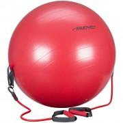 Avento Фитнес топка с дръжки, 65 см, червена, 41TO-ROG-65