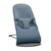 BABYBJÖRN Transat Bliss Jersey 3D - Bleu chiné, 3D Jersey