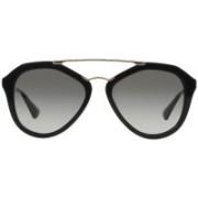 Prada Oval Sunglasses(Grey)