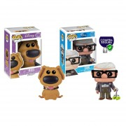 Dug y Carl Funko pop Up Disney