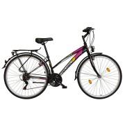 Koliken Gisu RS35 női trekking kerékpár fekete