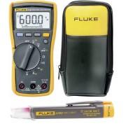 Set multimetru digital Fluke 115 + tester tensiune non-contact Fluke LVD2