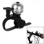 Ctsmart bicicleta bicicleta mini ultra-ruidosa advertencia de seguridad campana - negro + plata