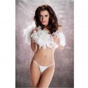 Passion erotic line tanga blanco mt012