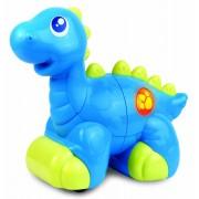 Jucarie interactiva Dinozaur prietenos, Albastru, 18 luni+