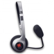iBall I 342 MV Over Ear Headset with Mic SILVER