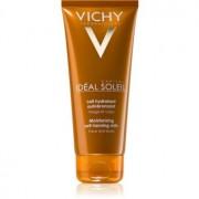 Vichy Idéal Soleil Capital loção bronzeadora hidratante para rosto e corpo 100 ml