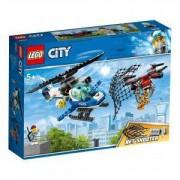 Конструктор Лего Сити - Полиция в небето – преследване с дрон, LEGO City, 60207