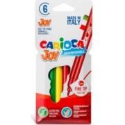Carioca super lavabila CARIOCA Joy varf subtire 2.6mm 6 culori-cutie