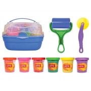 Let's Natural Play Dough Bucket - Roller and Dough