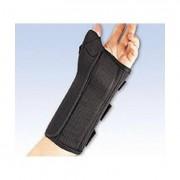 Pro Lite Wrist Splint W/Abd Thumb Right Black Xl