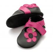 Sandale cu talpa moale Liliputi Kalahari Black