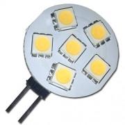 LED žárovka G4 6xSMD 1W teplá bílá - warm white