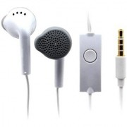 JMO27Deals Compatible Headphone Wired Headset with Mic (White On the Ear)