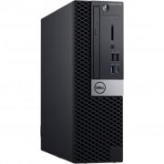 PC Dell OptiPlex 7070, P3CT6, SFF, Intel Core i7 9700 3GHz, 256GB SSD, 8GB, Intel UHD 630, Windows 10 Professional, crna, 36mj, Tipk., Miš