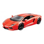 "Maisto 1/43 Power Kruzerz Lamborghini Aventador LP 700-4 - Orange (4.5"")"