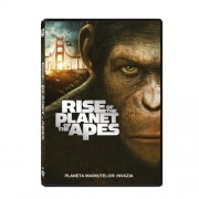 Rise of the Planet of the Apes-James Franco,Andy Serkis - Planeta maimutelor-Invazia (DVD)