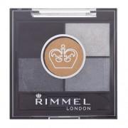 Rimmel London Glam Eyes Hd 5-Colour Eye Shadow 023 Foggy Grey 3,8G Per Donna (Cosmetic)