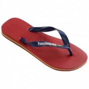 Havaianas - Brasil Logo - Sandalen maat 39/40 rood/roze