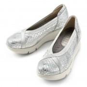 ミスキョウコ 4E厚底クロスゴムパンプス【QVC】40代・50代レディースファッション
