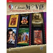 Alfred Music Classic Movie - Clarinet Instrumental Solos, Book/CD