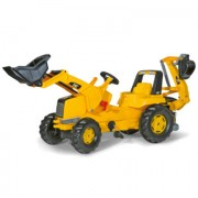 ROLLY TOYS RollyJunior CAT met RollyJunior Lader en RollyBackhoe 813001
