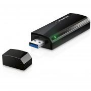 TARJETA DE RED USB INALAMBRICA TP-LINK WIRELESS BANDA DUAL 802.11 AC/A/B/G/N 5GHZ 867MBPS Y 2.4GHZ 3