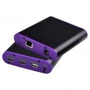 CAT872KVM HDMI Transmitter Receiver Extender with Audio Interface 200m Transmission Distance - US Plug