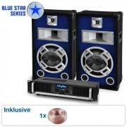 "Skytec ""Beatbass I"" Blue Star Series Conjunto de PA 800 Watt"