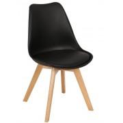 Cadeiras de Plástico Preto TORRE-4P