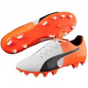 Puma evospeed 4.5 fg black / white / red blast - Scarpe da calcio