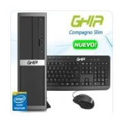 GHIA COMPAGNO SLIM / INTEL PENTIUM G4400 DUAL CORE 3.30 GHZ / 4 GB / 500 GB / SFF-N / ENDLESS OS