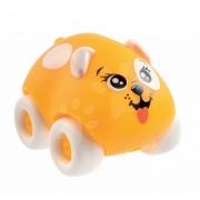 Smoby maşinuţă de jucărie - căţeluş Animal Planet Ned 211349-5 portocaliu-alb