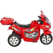 Cars Toys Premium Kids Ride On Motorcycle 6 V Toy Battery Powered Electric 3 Wheel Power Bicycle Color Red Electric Cars For Kids To Ride With Music And Horn Great Fun For Your Child 100% Guaranteed!