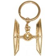 Star Wars - Golden Tie Fighter Metal Keychain